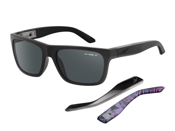 Arnette AN4176 222881 Dropout Black Purple