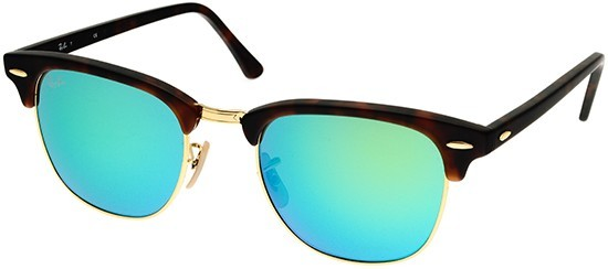 Ray-Ban RB3016 114519 Clubmaster Flash Lenses