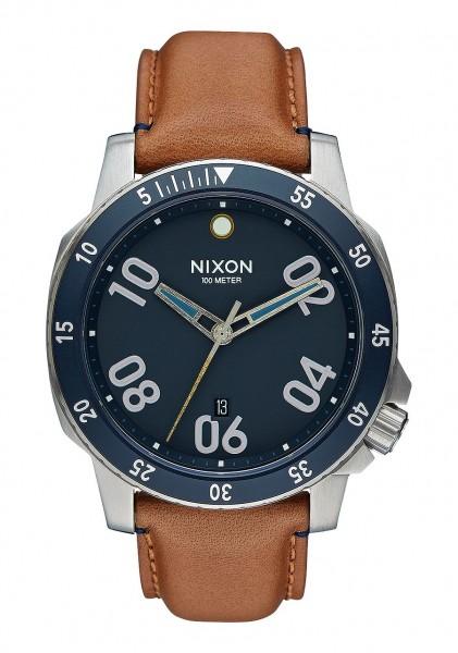 Nixon Ranger Leather Navy / Saddle A508 2186