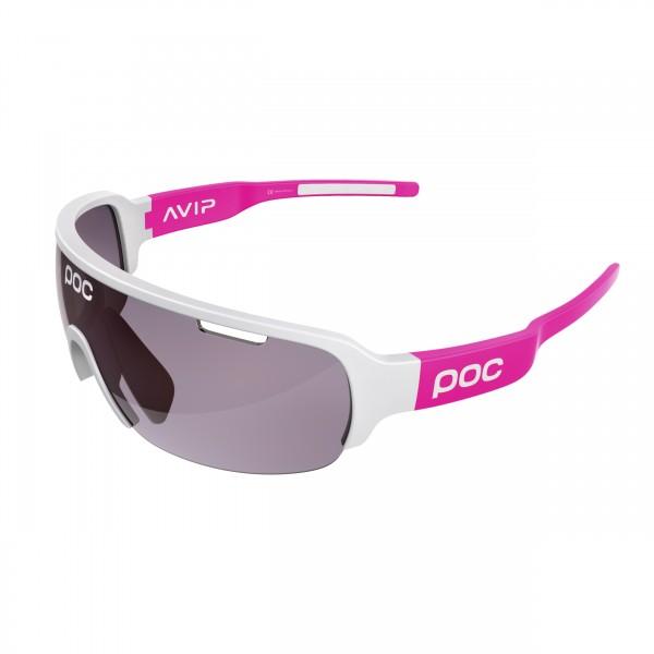 POC DO Half Blade AVIP Hydrogen White/Flourescent Pink