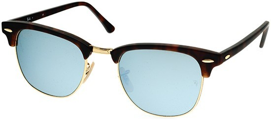 Ray-Ban RB3016 114530 Clubmaster Flash Lenses