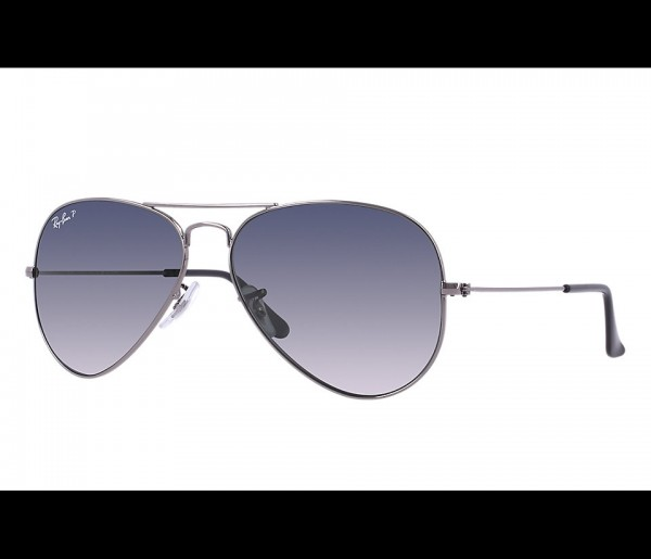 Ray-Ban RB3025 004/78 Aviator Large Metal Gradient Polarized