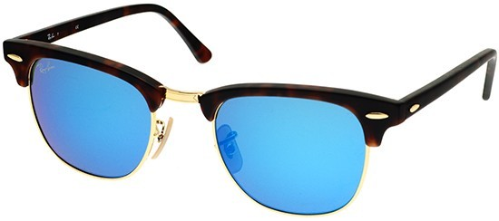 Ray-Ban RB3016 114517 Clubmaster Flash Lenses