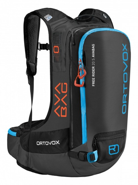 Ortovox Free Rider 20 S Avabag Kit - Black Anthracite